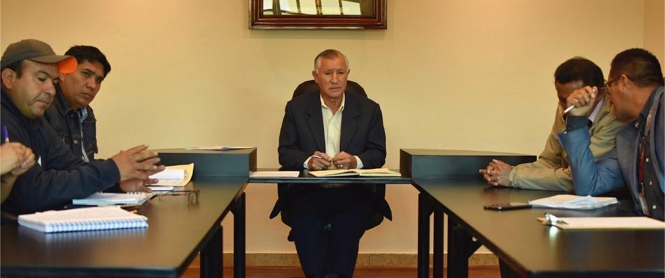 REUNIÓN CON FUNCIONARIOS DE LA DIRECCIÓN DE PARTICIPACION Y GOBERNABILIDAD DEL MUNICIPIO DE CUENCA.