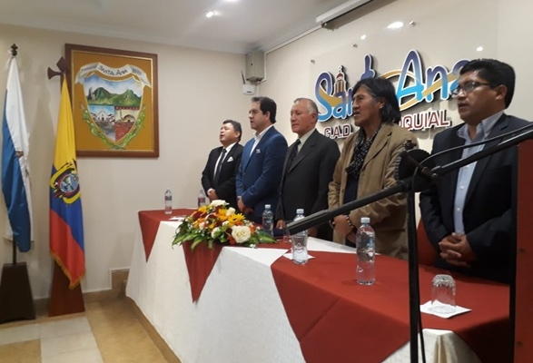 Sesión Solemne con motivo del Aniversario de Parroquialización.