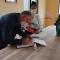 Entrega de kits escolares para proyecto con  nuestros adultos mayores